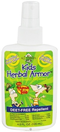 DROPPED: All Terrain - Kids Herbal Armor Natural Insect Repellent Phineas and Ferb - 4 oz. CLEARANCE PRICED