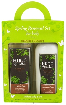DROPPED: Hugo Naturals - Spring Renewal Set For Body Creamy Coconut
