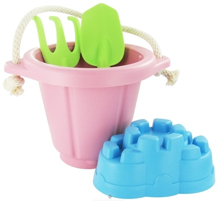 DROPPED: Green Toys - Sand Play Set 18 months+ Pink - CLEARANCE PRICED