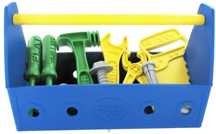 DROPPED: Green Toys - Tool Set Ages 2+ Blue