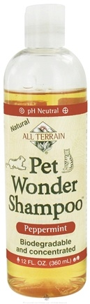 DROPPED: All Terrain - Pet Wonder Shampoo Peppermint - 12 oz. CLEARANCE PRICED