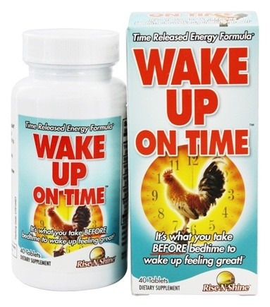 DROPPED: Rise-N-Shine - Wake Up On Time - 40 Tablets