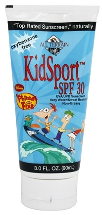 DROPPED: All Terrain - KidSport Phineas and Ferb Lotion 30 SPF - 3 oz.