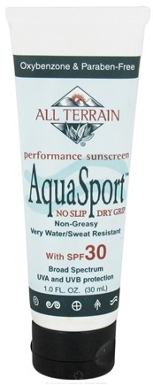 DROPPED: All Terrain - AquaSport Lotion 30 SPF - 1 oz. CLEARANCE PRICED