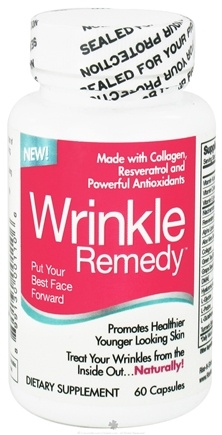 DROPPED: Rise-N-Shine - Wrinkle Remedy - 60 Capsules CLEARANCE PRICED