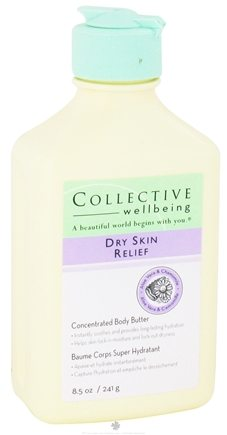 DROPPED: Collective Wellbeing - Dry Skin Relief Concentrated Body Butter with Aloe Vera & Chamomile - 8.5 oz.