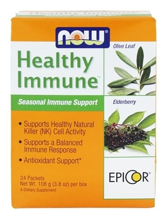 NOW Foods - Healthy Immune Seasonal Immune Support - 24 Packet(s)