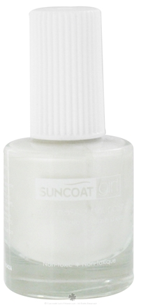 DROPPED: Suncoat - Girl Water-Based Nail Polish Sparkling Snow - 0.27 oz. CLEARANCE PRICED