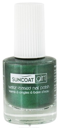 DROPPED: Suncoat - Girl Water-Based Nail Polish Going Green - 0.27 oz. CLEARANCE PRICED