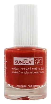 DROPPED: Suncoat - Girl Water-Based Nail Polish Golden Sunlight - 0.27 oz.