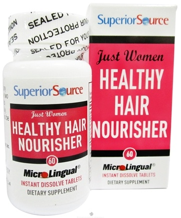 DROPPED: Superior Source - Just Women Healthy Hair Nourisher Instant Dissolve - 60 Tablets
