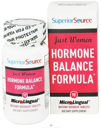 DROPPED: Superior Source - Just Women Hormone Balance Formula Instant Dissolve - 90 Tablets