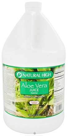 DROPPED: Natural High - Aloe Vera Juice Gallon - 128 oz. CLEARANCE PRICED