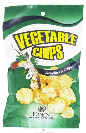 DROPPED: Eden Foods - Vegetable Chips - 2.1 oz.