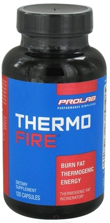 DROPPED: Prolab Nutrition - Thermo Fire - 120 Capsules CLEARANCE PRICED