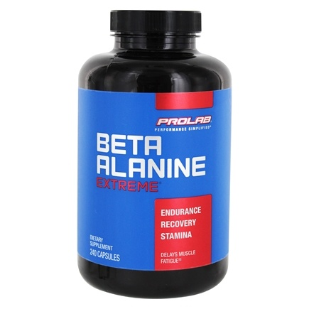 DROPPED: Prolab Nutrition - Beta Alanine Extreme - 240 Capsules