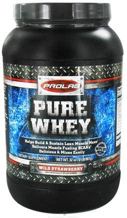 DROPPED: Prolab Nutrition - Pure Whey Protein Isolate Wild Strawberry - 2 lbs.