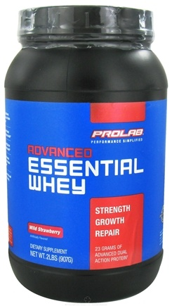 DROPPED: Prolab Nutrition - Advanced Essential Whey Protein Wild Strawberry - 2 lbs. (formerly Advanced Pure Whey Isolate),/ CLEARANCE PRICED