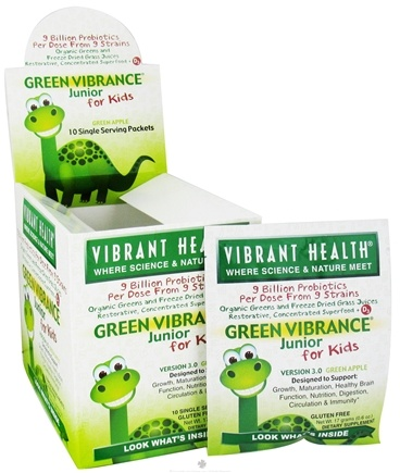 Zoom View - Green Vibrance Junior For Kids Green Foods (10 x 17 g)