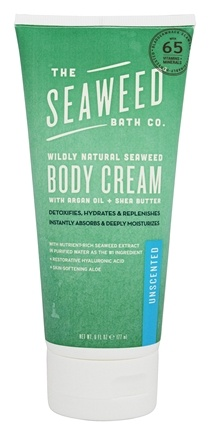 Zoom View - Wildly Natural Seaweed Body Cream with Argan Oil and Kukui Oil