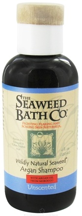 DROPPED: The Seaweed Bath Co. - Wildly Natural Seaweed Argan Shampoo with Argan Oil From Morocco Unscented - 4 oz. Travel Size/ CLEARANCE PRICED