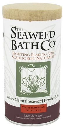 DROPPED: The Seaweed Bath Co. - Wildly Natural Seaweed Powder Bath with Hawaiian Kukui Oil Lavender Scent - 16.8 oz. (8-16 Baths)