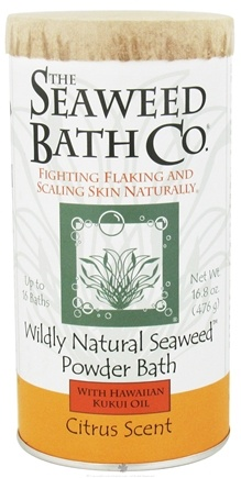 DROPPED: The Seaweed Bath Co. - Wildly Natural Seaweed Powder Bath Citrus Scent - 16.8 oz.
