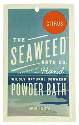 DROPPED: The Seaweed Bath Co. - Wildly Natural Seaweed Powder Bath Citrus Scent - 2 oz.