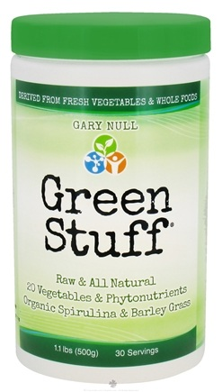 DROPPED: Gary Null's - Green Stuff Powder 30 Servings - 500 Grams