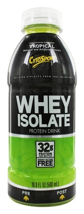 DROPPED: Cytosport - Whey Isolate RTD Protein Tropical - 16.9 oz.