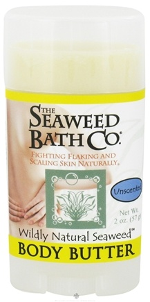 DROPPED: The Seaweed Bath Co. - Wildly Natural Seaweed Body Butter Unscented - 2 oz.