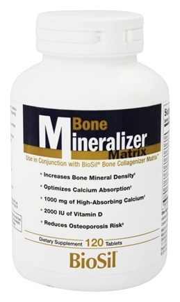 DROPPED: Natural Factors - Bone Mineralizer Matrix - 120 Tablets