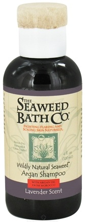 DROPPED: The Seaweed Bath Co. - Wildly Natural Seaweed Argan Shampoo with Argan Oil From Morocco Lavender Scent - 4 oz. Travel Size/ CLEARANCE PRICED
