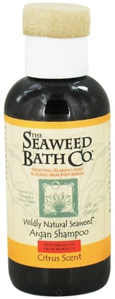 DROPPED: The Seaweed Bath Co. - Wildly Natural Seaweed Argan Shampoo with Argan Oil From Morocco Citrus Scent - 4 oz. Travel Size CLEARANCE PRICED