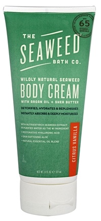 The Seaweed Bath Co. - Wildly Natural Seaweed Body Cream Citrus Scent - 6 oz.