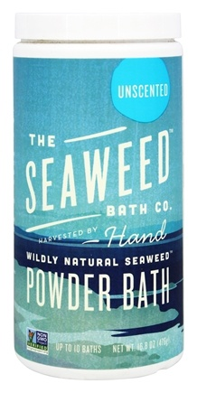 The Seaweed Bath Co. - Wildly Natural Seaweed Powder Bath Unscented - 16.8 oz.