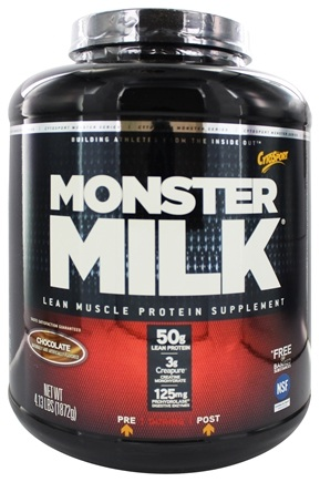 DROPPED: Cytosport - Monster Milk Ultra-Powerful Monster Muscle Formula Chocolate - 4.13 lbs.