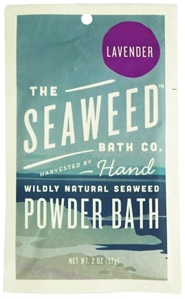 Zoom View - Wildly Natural Seaweed Powder Bath with Moroccan Argan Oil