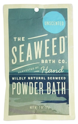 The Seaweed Bath Co. - Wildly Natural Seaweed Powder Bath with Moroccan Argan Oil Unscented - 2 oz.