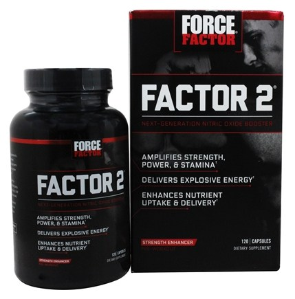 Zoom View - Factor 2 Pre-Workout Nitric Oxide Booster