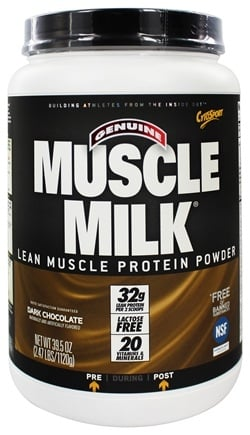 DROPPED: Cytosport - Muscle Milk Genuine Nature's Ultimate Lean Muscle Protein Dark Chocolate - 2.47 lbs.