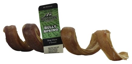 DROPPED: Redbarn - Natural Bully Spring Dog Chew - 6 in.