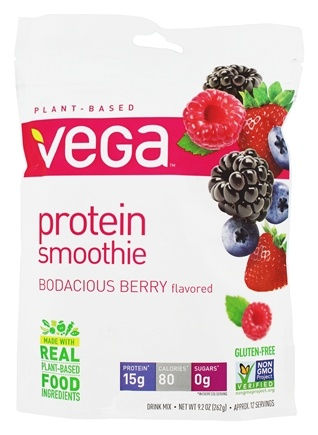 Vega - Protein Smoothie Bodacious Berry - 9.2 oz.