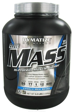 Zoom View - Elite Mass Gainer Hi-Protein Muscle Gainer