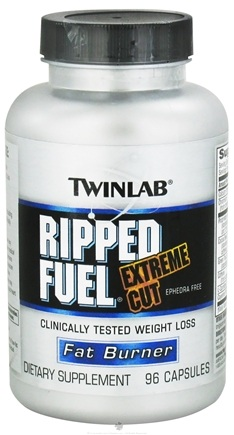 DROPPED: Twinlab - Ripped Fuel Extreme Cut Ephedra Free - 96 Capsules CLEARANCE PRICED