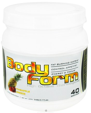 Zoom View - Body Form High Octane Thermogenic