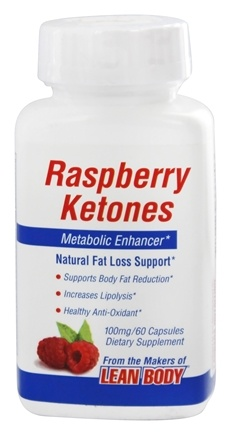 DROPPED: Labrada - Raspberry Ketones Metabolic Enhancer 100 mg. - 60 Capsules