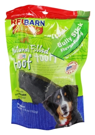 Zoom View - Natural Filled Hoof Dog Chew