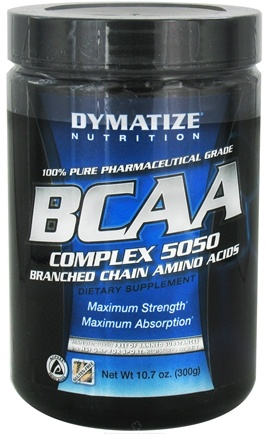 DROPPED: Dymatize Nutrition - BCAA Complex 5050 Branched Chain Amino Acids - 300 Grams