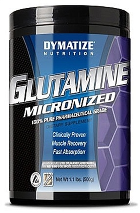 DROPPED: Dymatize Nutrition - Glutamine Micronized 100% Pure Pharmaceutical Grade 4500 mg. - 500 Grams CLEARANCE PRICED
